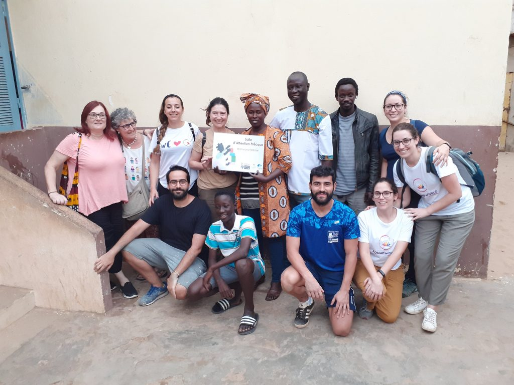 equipo centro sanitario Thiaroye senegal